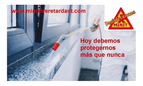sanitización desinfección fumig prot seguridad e higiene