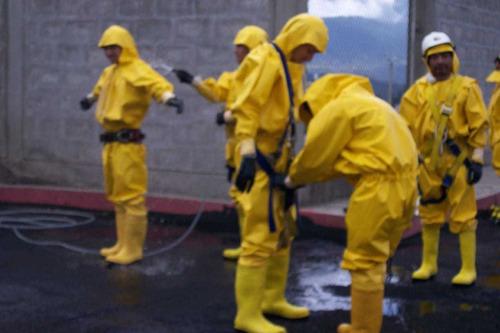 sanitización, desinfección, fumigación