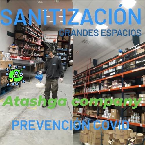 sanitizacion desinfeccion virus