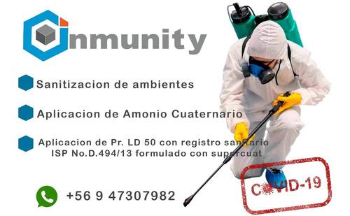 sanitizacion , desinfeccion y fumigacion