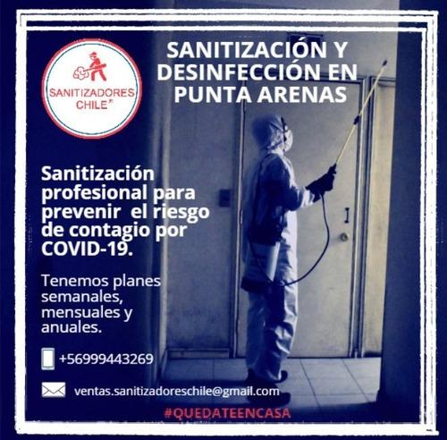 sanitización punta arenas / 999443269