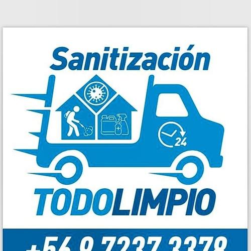 sanitización todo limpio