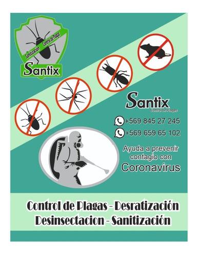 sanitización y control de plagas