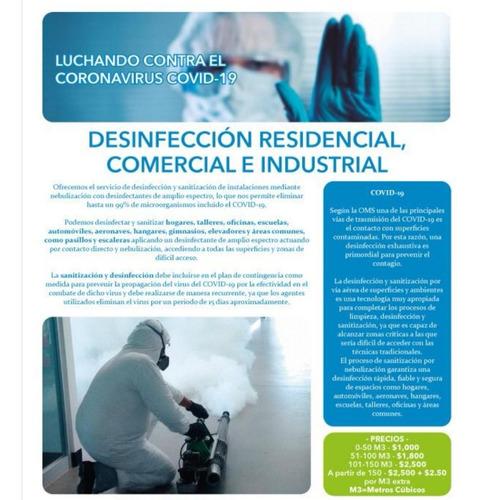 sanitización y desinfección