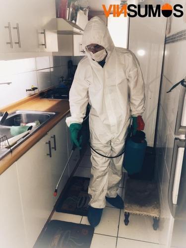 sanitizacion y desinfeccion