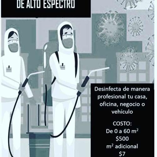 sanitizacion y desinfección profesional