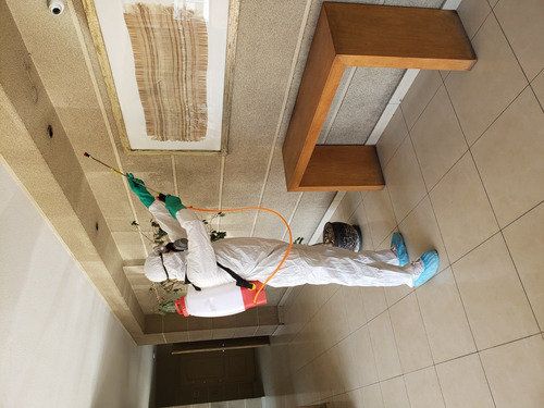 sanitización y fumigación