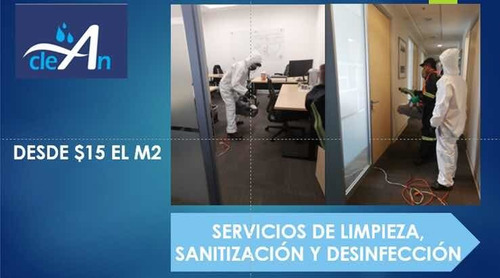 sanitizacion y limpieza