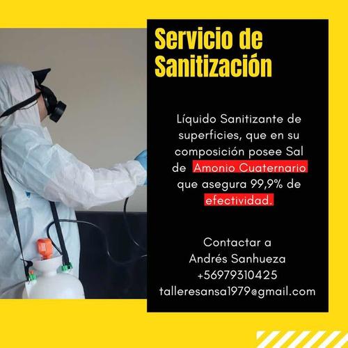 sanitizacion y venta de amonio cuaternario