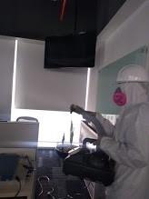 sanitizaciones con nebulizaciones limpieza y desinfeccion