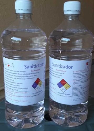 sanitizador cuaternario de amonio