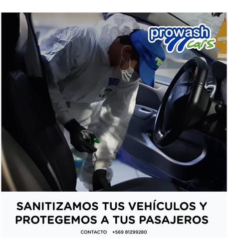 sanitizamos vehículos y protegemos a tus clientes (30 un)