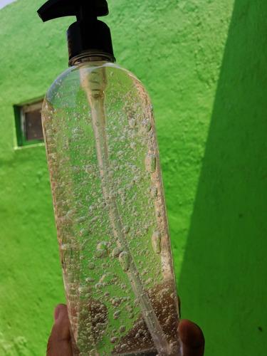 sanitizante de superficies, gel y caretas