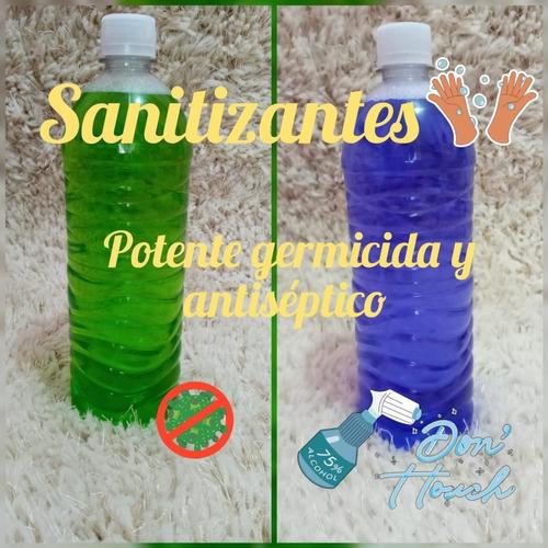 sanitizante , eficaz germicida y antiseptico