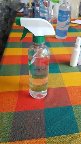 sanitizante en botella con atomizador 500ml
