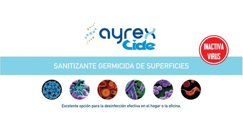 sanitizante germicida de superficies 20l