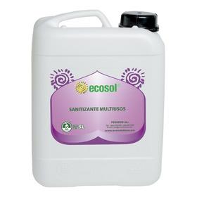 Sanitizante Multiusos 5l, Biodegradable, Ecosol