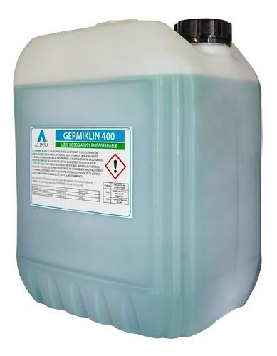 sanitizante sales cuaternarias de amonio biodegradable 20lts