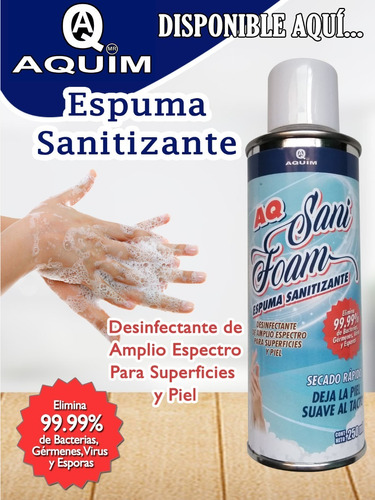 sanitizante spray