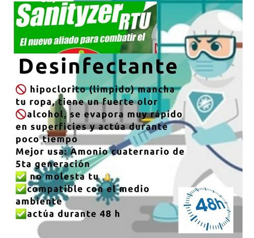 sanityzer (amonio cuaternario 5ta generacion)