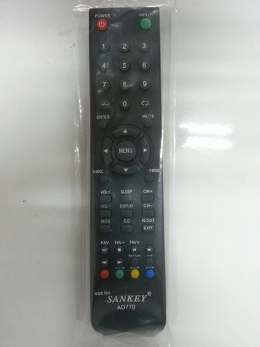sankey controles remoto smart tv, led, lcd, plasma