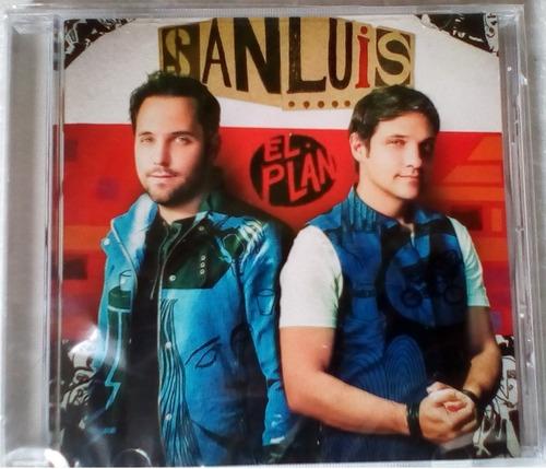 sanluis / el plan / cd original nuevo y sellado