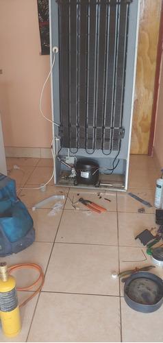sanluis refri/tecnico en heladera/ reparacion a domicilio