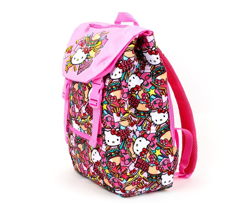 sanrio - mochila hamburguer de hello kitty