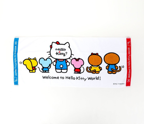 sanrio - toalla de manos friends hello kitty