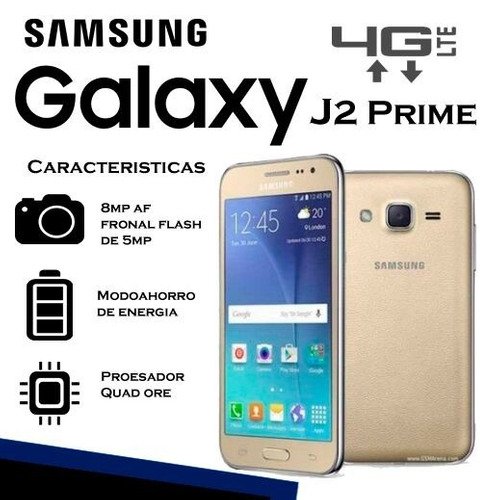 sansung galaxy j2 prime/4g lte/garantía