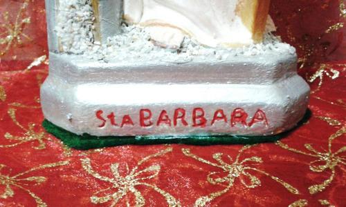 santa barbara (escultura)