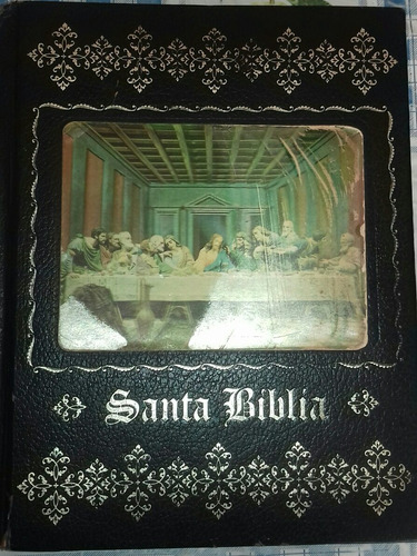 santa biblia familiar con ilustraciones