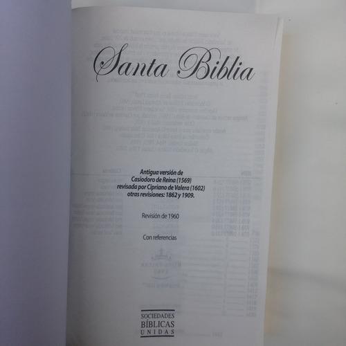 santa biblia letra grande reina valera 1960 ruy diaz