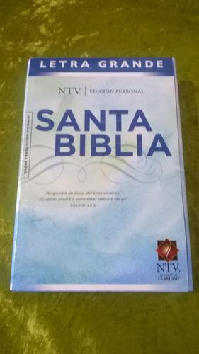 santa biblia ntv letra grande