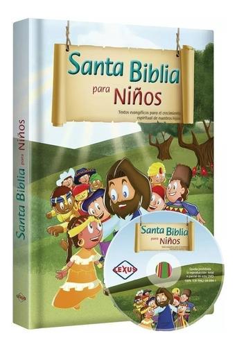 santa biblia para niños -1 tomo 1 dvd / lexus