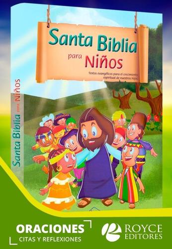 santa biblia para niños con dvd