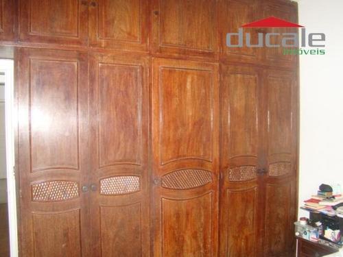 santa cecília: casa térrea com 4 quartos, sendo 02 suítes - código: ca0033