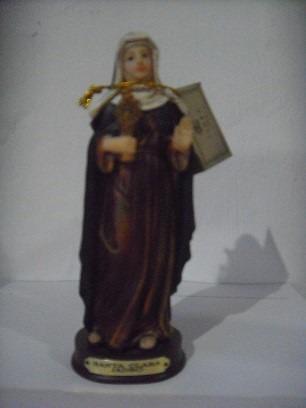 santa clara - imagen  15 cms  - jadro