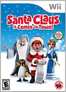 santa claus is comin' to town! - wii