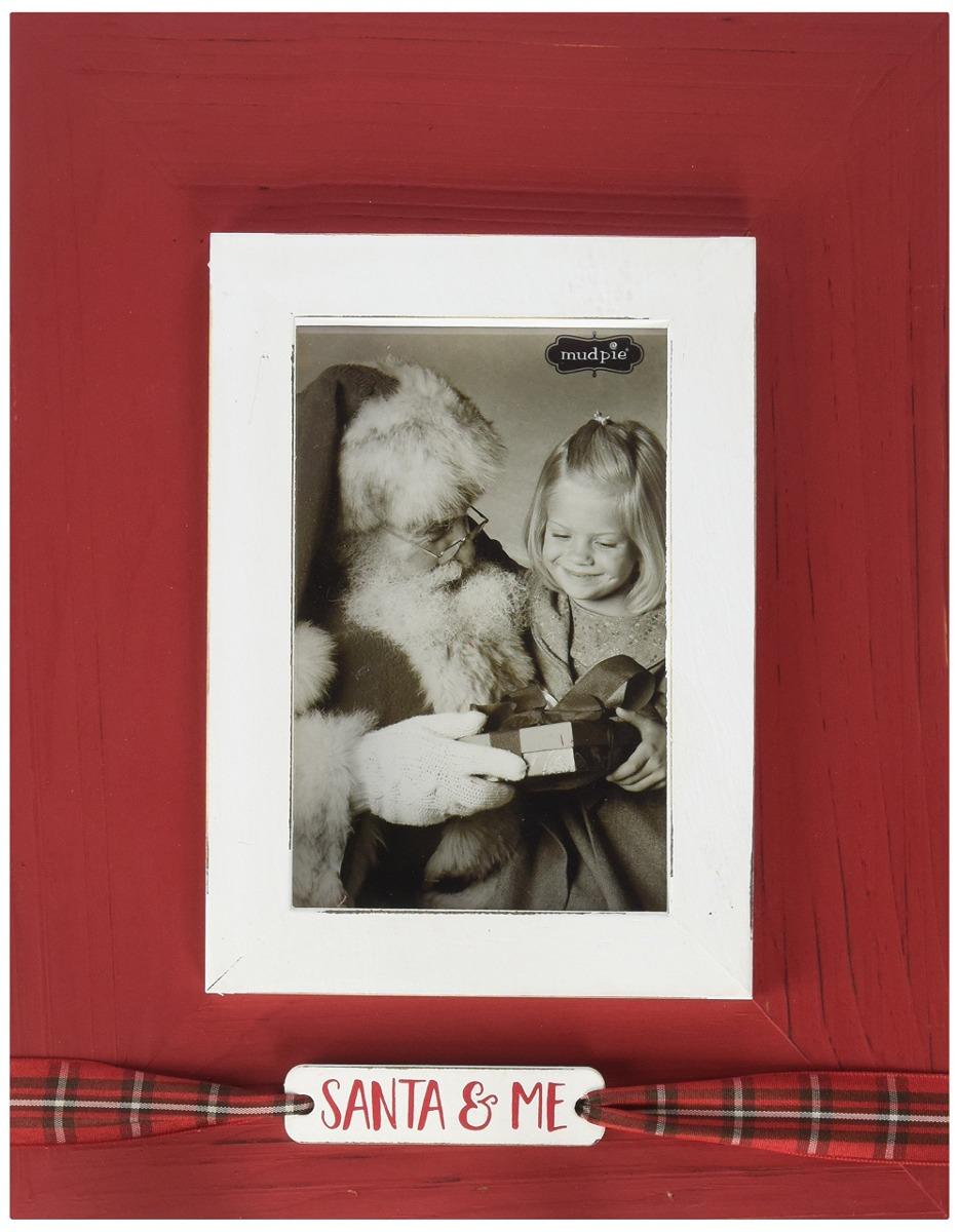 Santa De Torta De Barro Y Me Marco Vertical - $ 52.842 en Mercado Libre