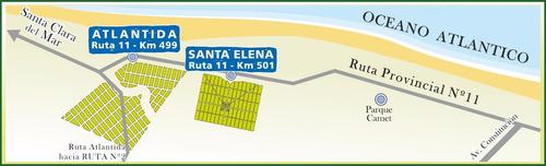 santa elena terreno a 500 mts del mar financiación