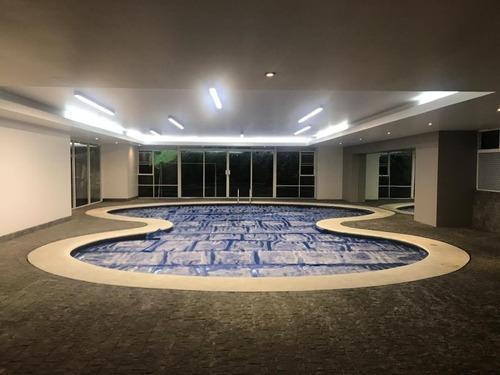 santa fe, exclusivo departamento en 8o piso del arq. girault