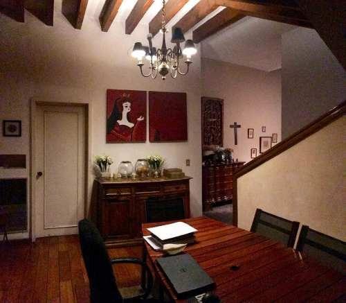 santa fe, hermosa casa en lomas de santa fe para actualizar.