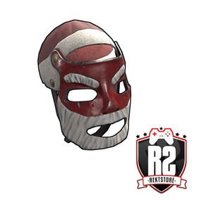 Rusty Silver Paintball Mask Roblox