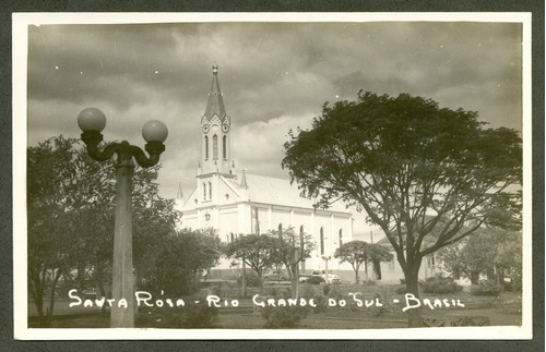 santa rosa -rs - igreja -fotografia