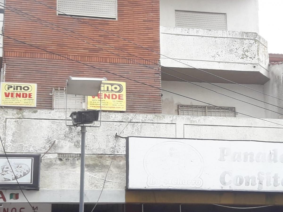 santa teresita lindo y amplio departamento 2 amb con terraza