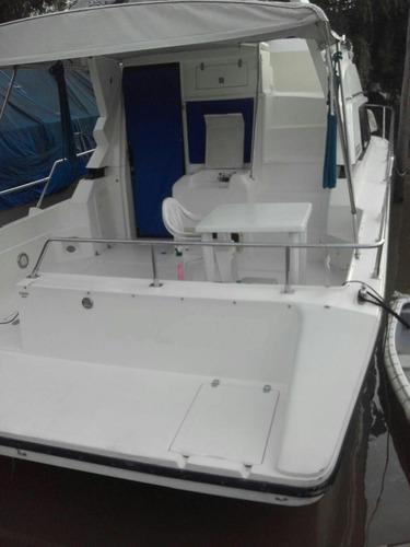santana 35 2 con mercruiser 180 hp con 450 hs de uso!!!!