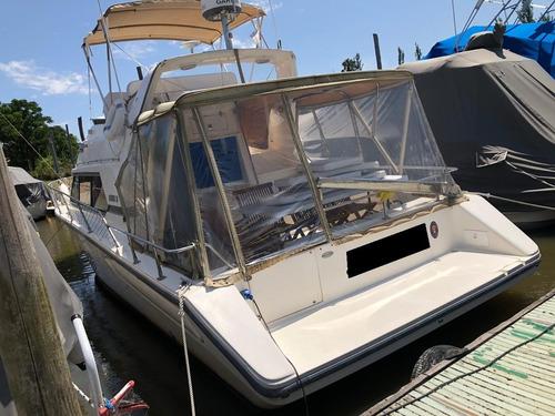santana 35 con 2 motores mercruiser 2001 crucero pro seven
