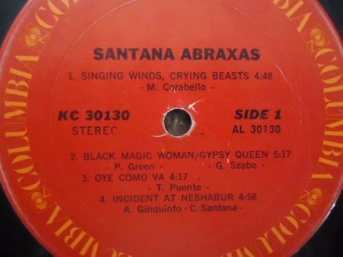 santana / abraxas vinyl lp acetato