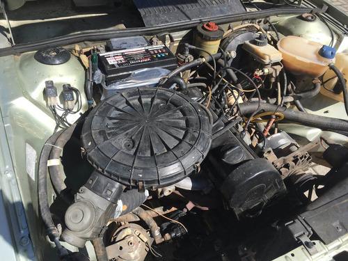 santana gls 86/87 placas pretas nunca restaurado